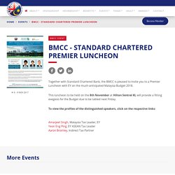 British Malaysian Chamber of Commerce (BMCC)