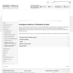 Label- OEKO-TEX®- STANDARD 100