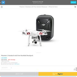 Phantom 3 Standard with Free Hardshell Backpack - Official DJI Store