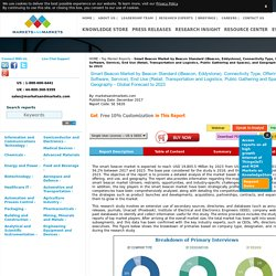 Smart Beacon Market by Beacon Standard (iBeacon, Eddystone) - 2023