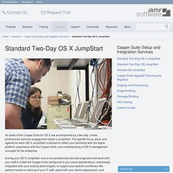 Standard Two-Day OS X JumpStart