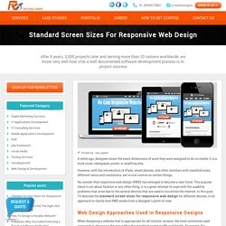 Standard Screen Sizes For Responsive Web Design