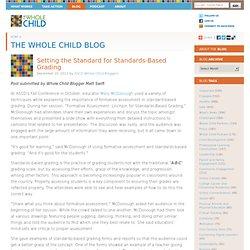Setting the Standard for Standards-Based Grading