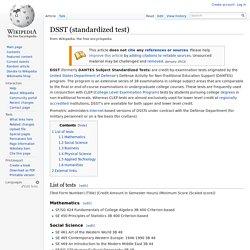 DSST (standardized test)