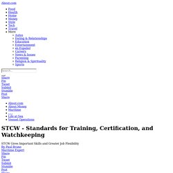 Stcw-Standards-For-Training-Certification-And-Watchkeeping