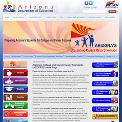 Arizona Common Core State Standards