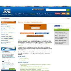 Common Core State Standards Initiative | PTA