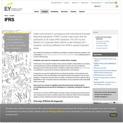 IFRS Standards - International Financial Reporting Standards - EY - India