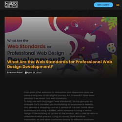What Are the Web Standards for Professional Web Design Agency