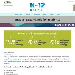 NEW ISTE Standards for Students