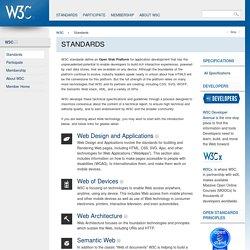 Standards - W3C