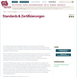 Standards & Zertifizierungen
