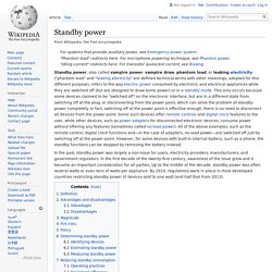 Standby power - Wikipedia