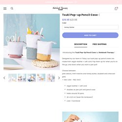 Tsuki Pop-up Standing Pencil Case ☾ – NotebookTherapy