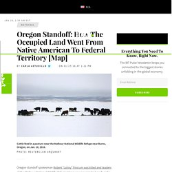 Oregon Standoff: How The Occupied Land Went From Native American To Federal Territory [Map]