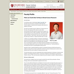 Peter P. Lee, MD - Stanford Cancer Institute - Stanford Medicine