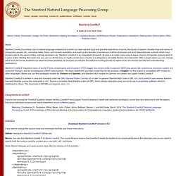 The Stanford NLP (Natural Language Processing) Group