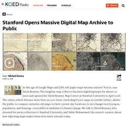 Stanford Opens Massive Digital Map Archive to Public