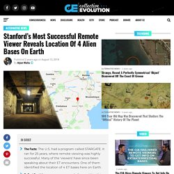 Stanford's Most Successful Remote Viewer Reveals Location Of 4 Alien Bases On Earth