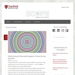 Scope - medical blog - Stanford University School of Medicine