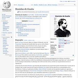 Stanislas de Guaita