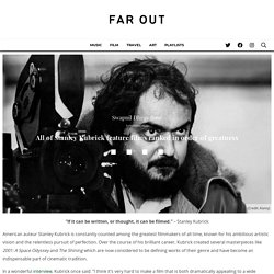 All Stanley Kubrick features ranked in order of greatness