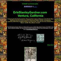 Erle Stanley Gardner Website