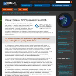 Stanley Center for Psychiatric Research