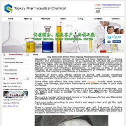 Buy Stanozolol Online From TopKey Pharmaceutical Chemicals