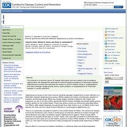 Internet Queries and Methicillin-Resistant Staphylococcus aureus Surveillance