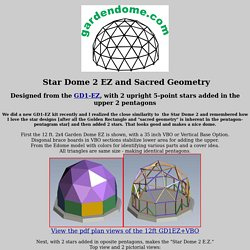 STAR DOME 2 EZ by gardendome.com