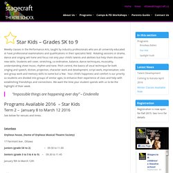 Star Kids - Stagecraft