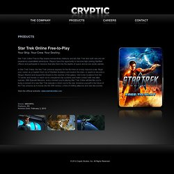 Star Trek Online Free-to-Play | Cryptic Studios
