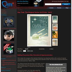 Star Trek: The Original Series Art Prints - Set 2