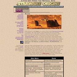 Star Wars Origins - Frank Herbert's Dune