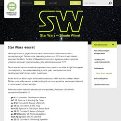 Star Wars -seurat - Herättäjä-Yhdistys