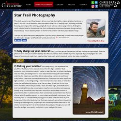 Star Trail Photography Tips
