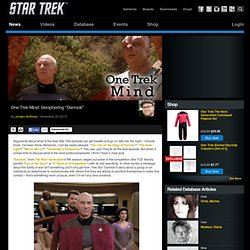 "Star Trek One Trek Mind: Deciphering ""Darmok"""