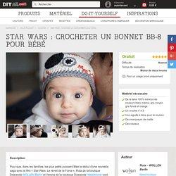 Star Wars : crocheter un bonnet BB-8 pour bébé