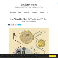 Star Wars Plot Maps Of The Original Trilogy