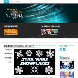 Star Wars Snowflakes 2012