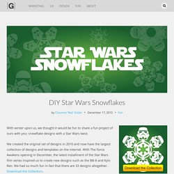 DIY Star Wars Snowflakes | Matters of Grey