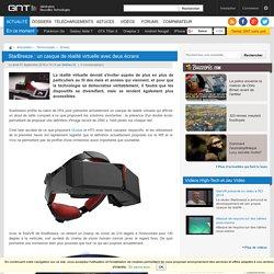 StarBreeze : un casque de réalité virtuelle avec deux écrans