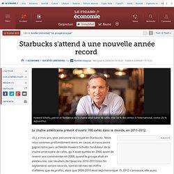Starbucks s'attend à une nouvelle année record