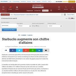 Starbucks augmente son chiffre d'affaires