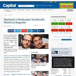 Starbucks a fondu pour les biscuits Michel et Augustin