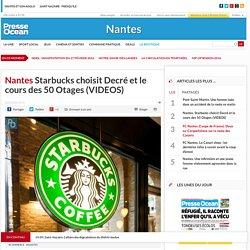 Starbucks choisit Decré et le cours des 50 Otages (VIDEOS)