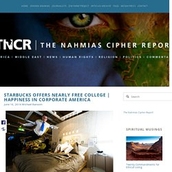 Happiness in Corporate America — The Nahmias Cipher Report