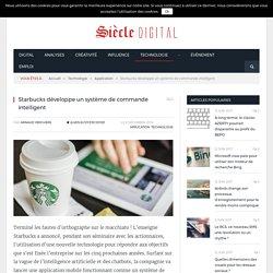 Starbucks développe un système de commande intelligent