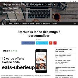 Starbucks lance des mugs à personnaliser
